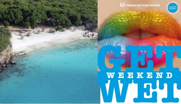 """Get Wet"", a very gay week in the blue waters of Curacao"