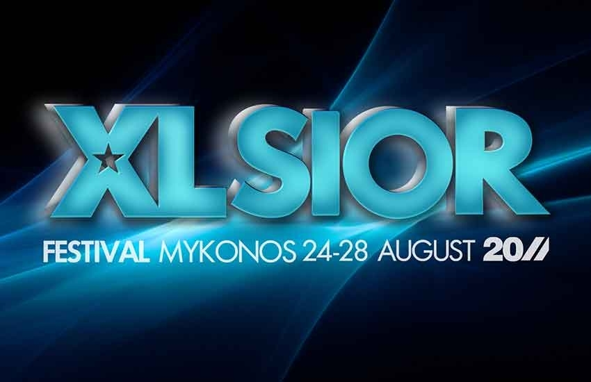 En août, le Xlsior Festival prend d'assaut Mykonos