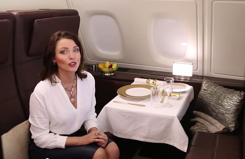 Dannii Minogue is the new ambassador of Etihad