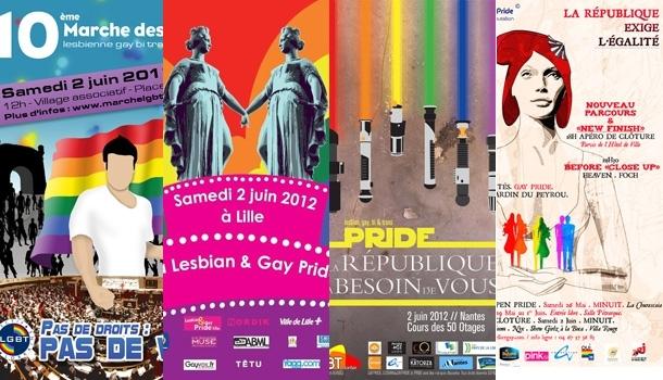 A Nantes, Lille, Montpellier et Metz, des gay prides très revendicatives ce week-end !