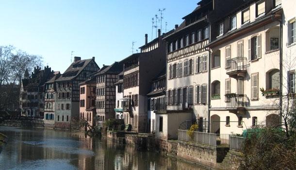 Strasbourg entre deux eaux
