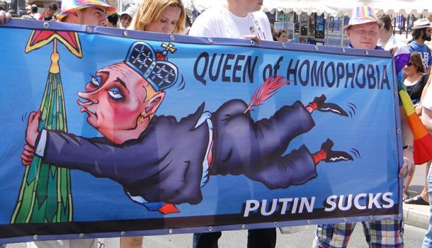 Les touristes gays menacés de prison en Russie
