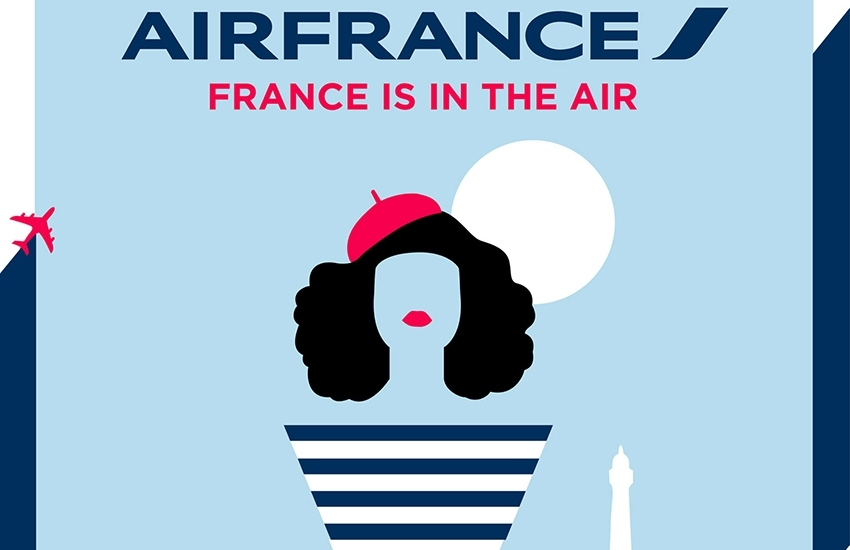 "Air France's exhibition ""France is in the Air"" to stop in Paris"