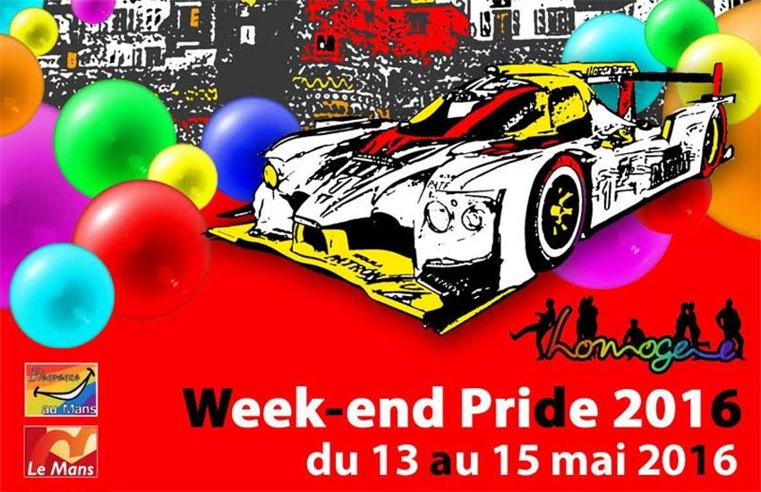 Gay Pride France 2016 : Le Mans ouvre le bal