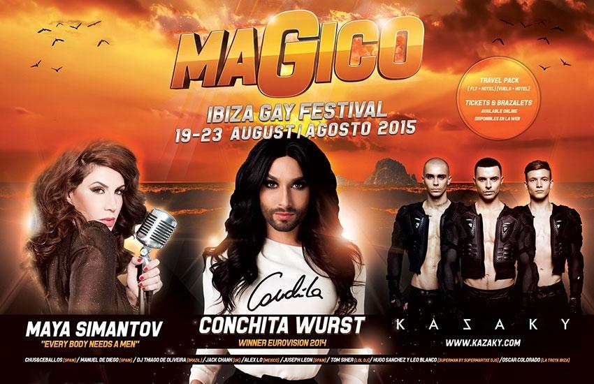 Festival gay à Ibiza : le Magico Festival !