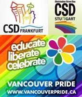 L'été des gay prides se poursuit à Francfort et Vancouver ce week-end