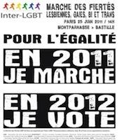 Gay pride de Paris : une marche, un kiss-in et... Arielle Dombasle !