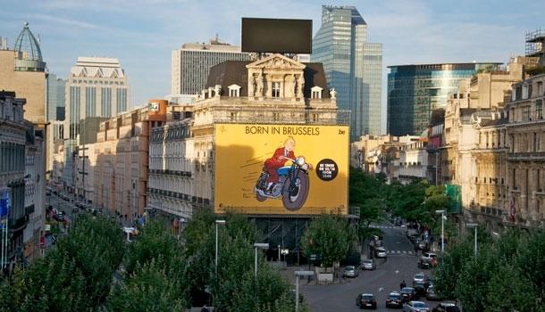 Tintin en Thalys, de Bruxelles à Paris