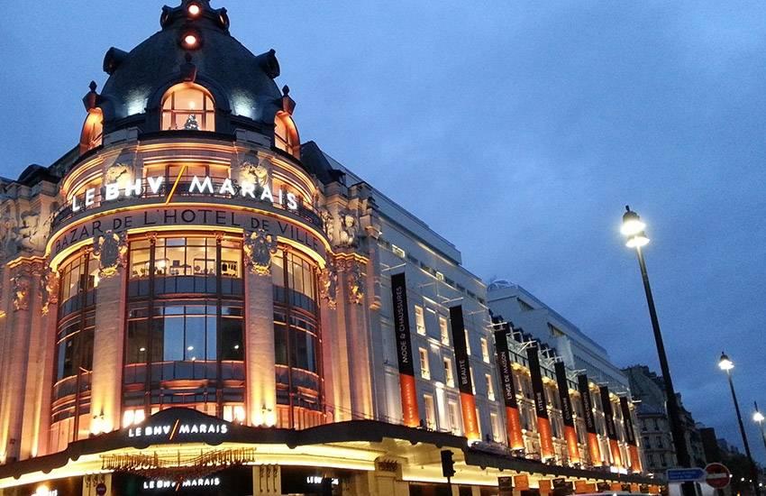 BHV Marais, enjoy a VIP Parisian shopping day!