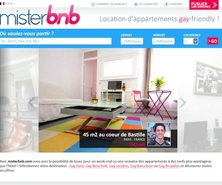 misterb&b : gay & gay-friendly apartment and room rentals!