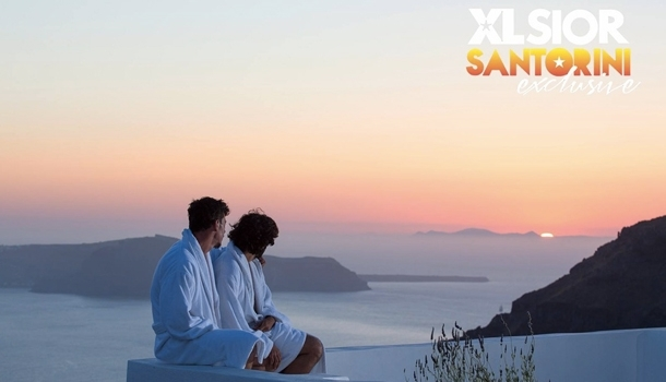 XLSIOR Santorini Exclusive, First Luxury Gay Festival!