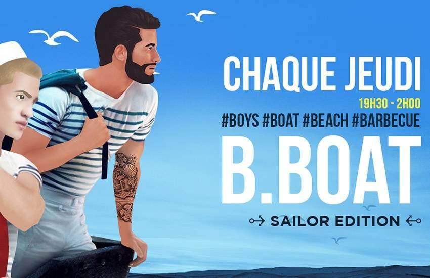 B Boat : la soirée gay de l'été est de retour !