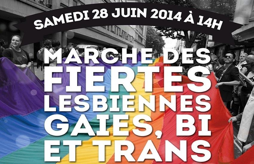 Marche des Fiertés de Paris : parcours et programme