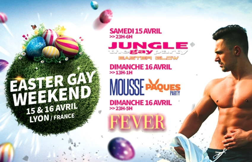 A Pâques, direction Lyon pour Easter Gay Weekend