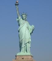 La statue de la Liberté, à New York, fermée !