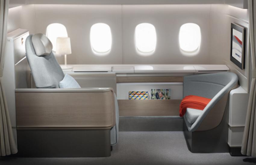 Air France unveils new First Class
