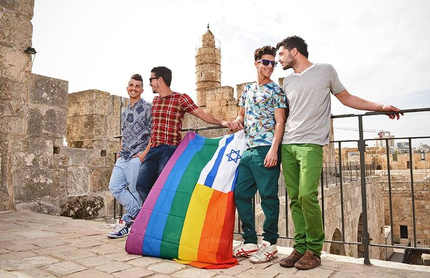 From the Holy Land to Tel Aviv Gay Pride