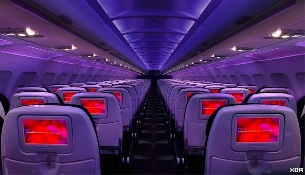 L'avion, comme lieu de drague !