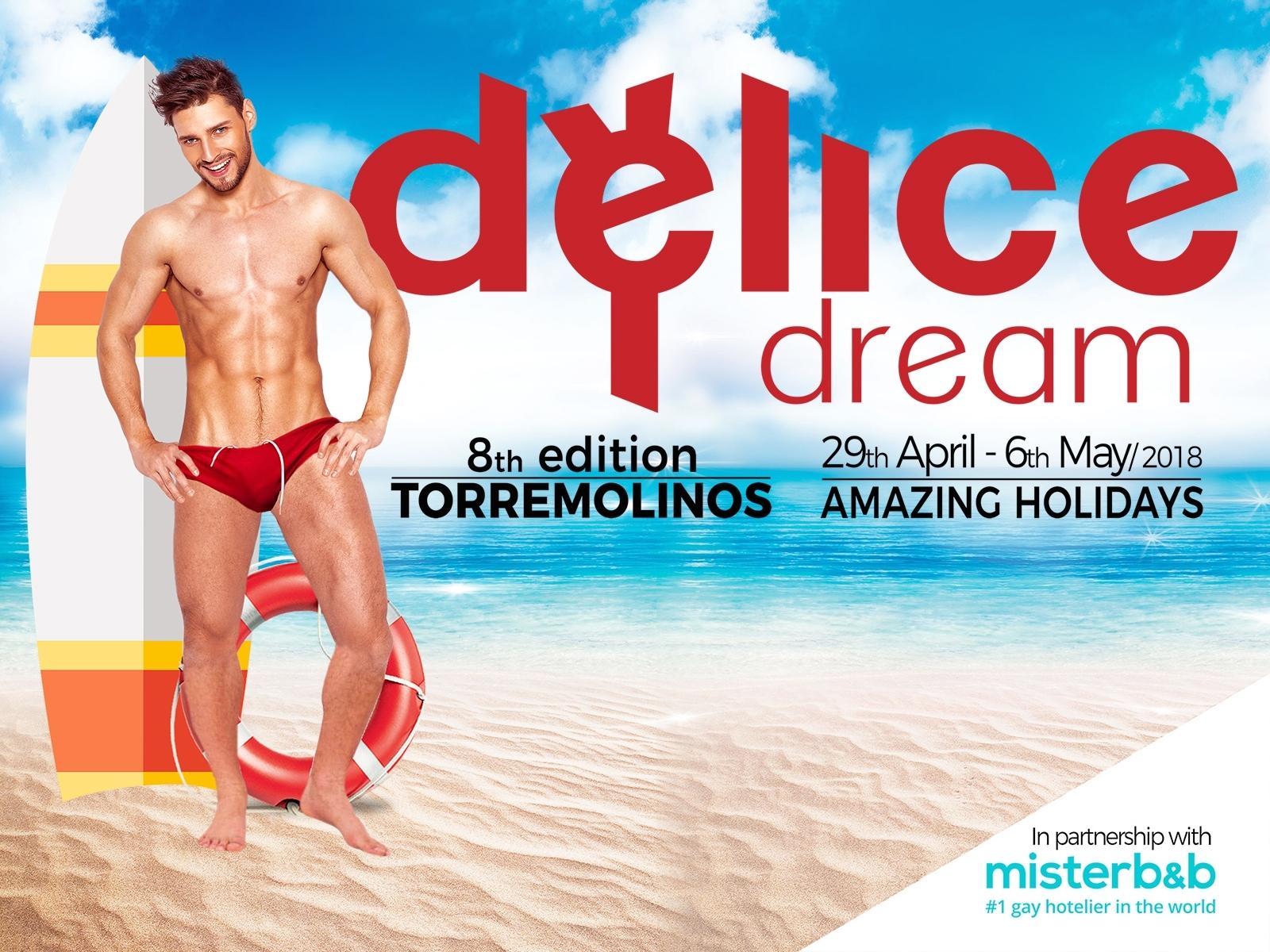 Delice Dream, le spring break gay européen s'installe à Torremolinos