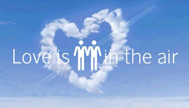 Vol SK903, reportage à bord du « Love Flight » pour le premier mariage gay dans les airs