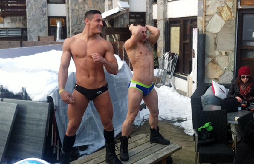 PHOTOS – Cartes postales de la European Snow Pride de Tignes