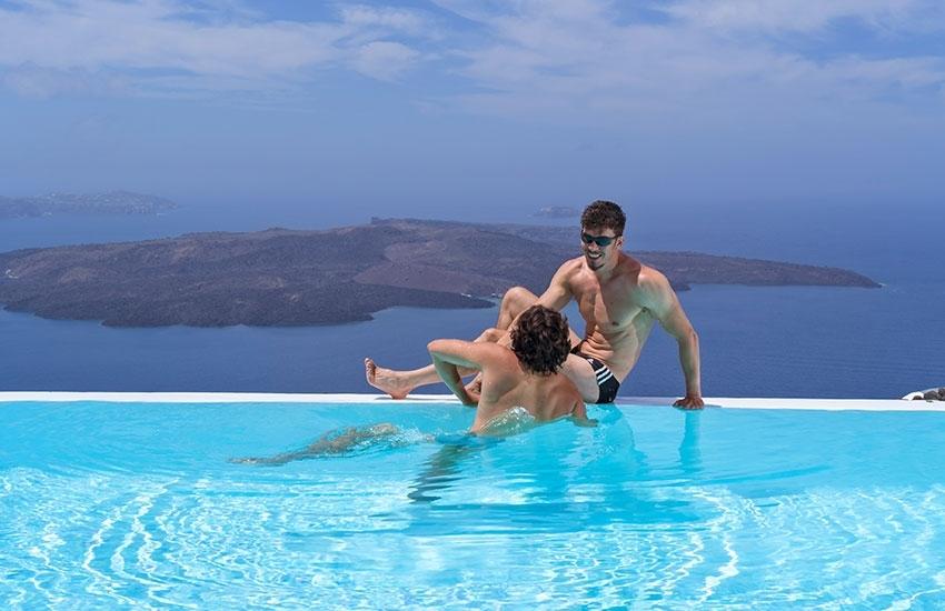 Santorini, the next big Gay Honeymoon Destination