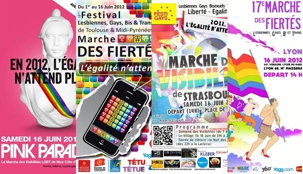 Nice, Toulouse, Lyon, Strasbourg, les gays mobilisés ce week-end en France !