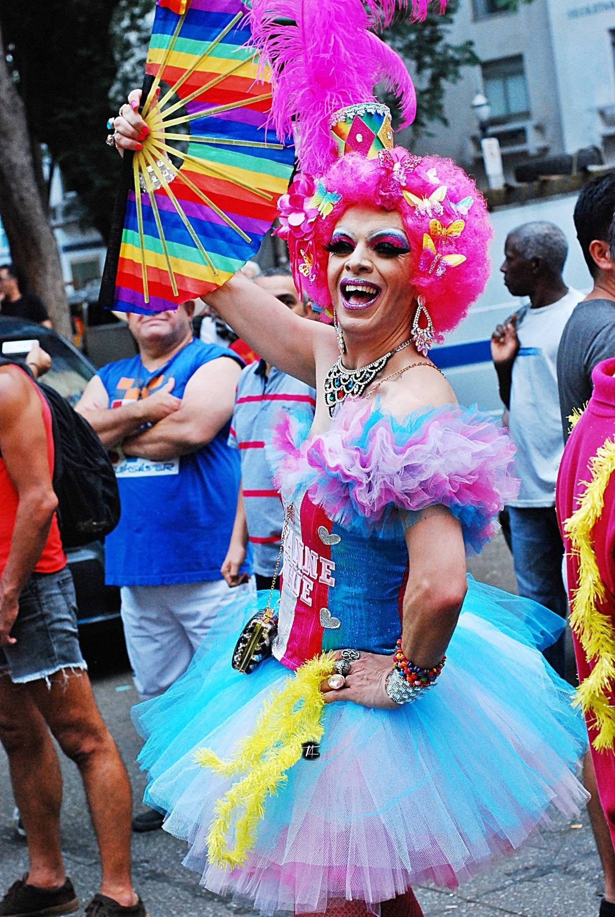 gay Pride Parade in So Paulo