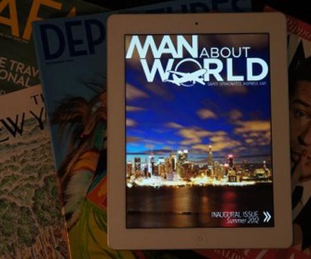 Man About World, le premier magazine de voyage gay sur iPad