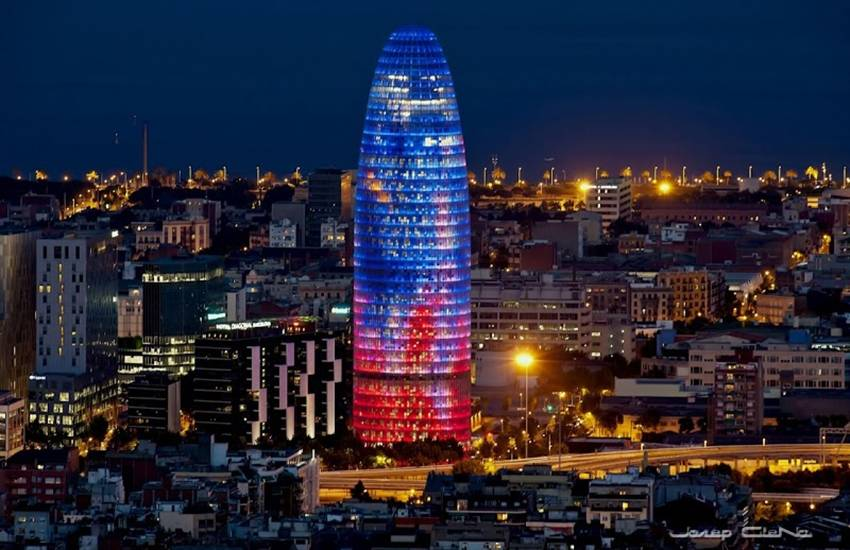 The Agbar Tower in Barcelona to become a luxury hotel