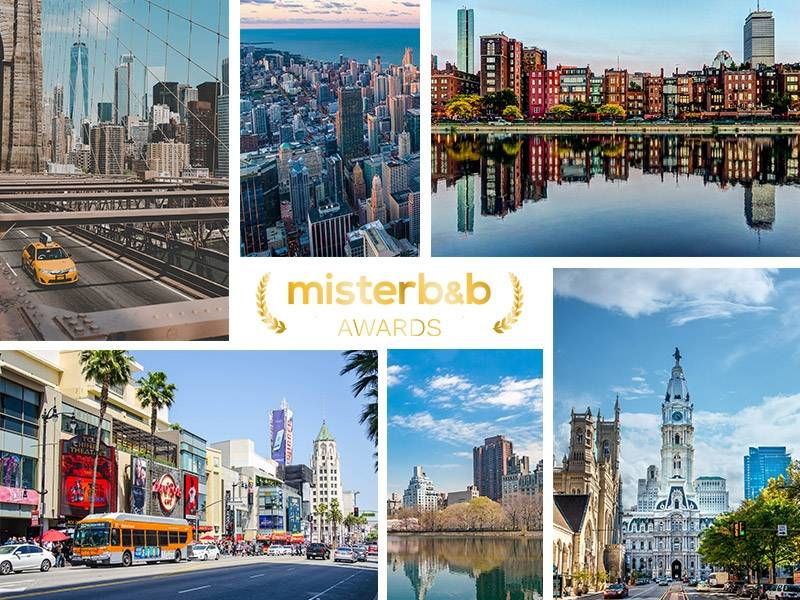 the misterb&b awards: top-rated hosts in USA