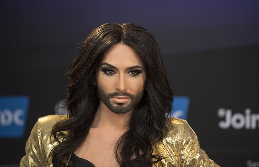 Conchita Wurst to perform at the Crazy Horse in Paris