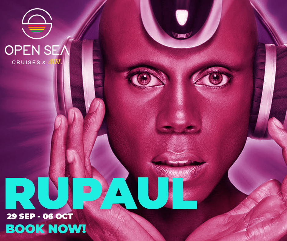 Ahoy there! Open Sea Cruises x Axel's pop star line-up 'ruvealed'!