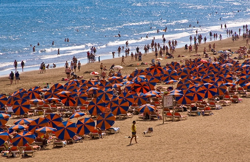 Männer fkk strand Strand