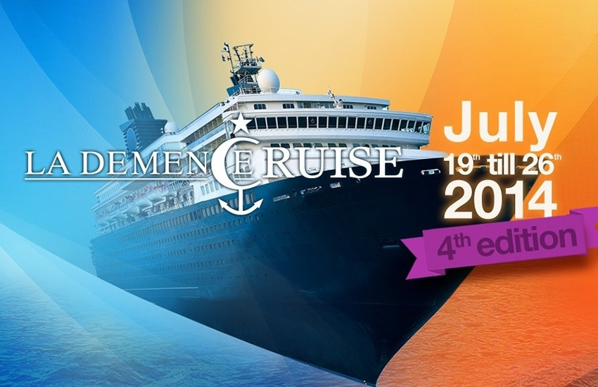 And here is the itinerary for the next La Demence Cruise!
