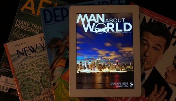 Man About World, le premier magazine de voyage gay sur iPad