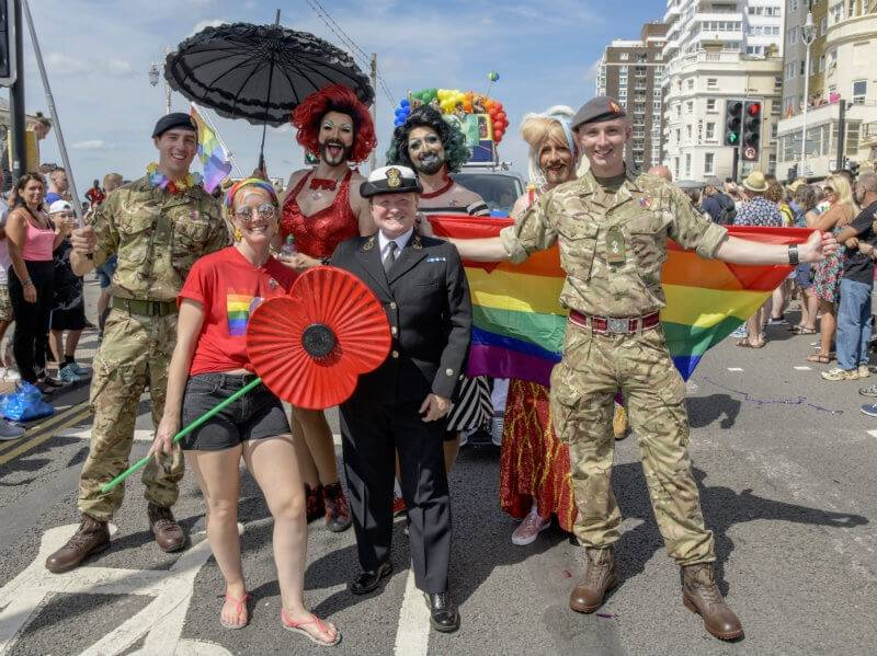 Brighton Gay Pride dates