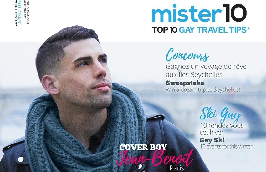 New: mister10 Gay Travel Magazine Winter Edition!