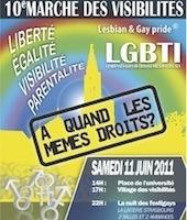 Samedi, la Marche des visibilités de Strasbourg fête ses 10 ans