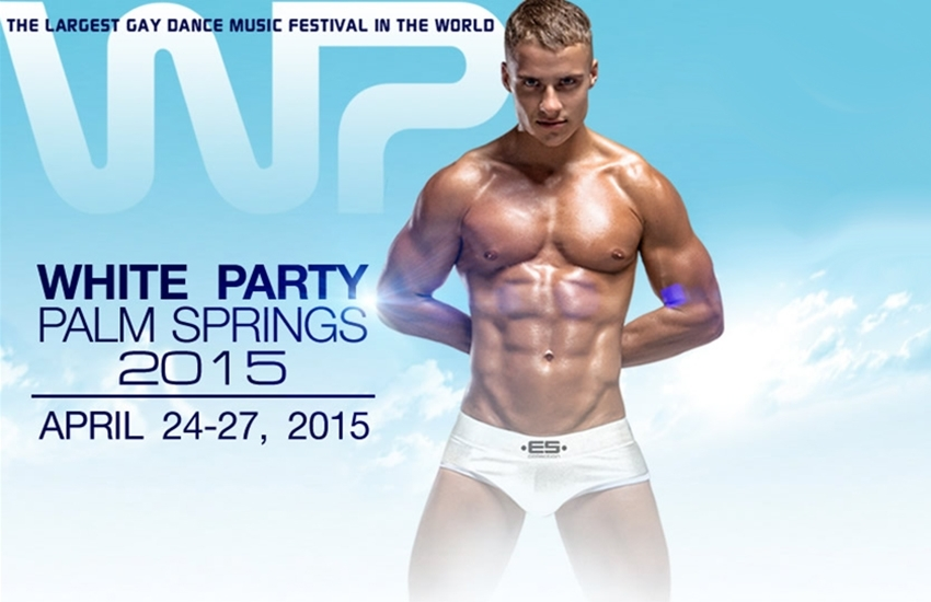 VIDEO – Palm Springs White Party, final Fireworks
