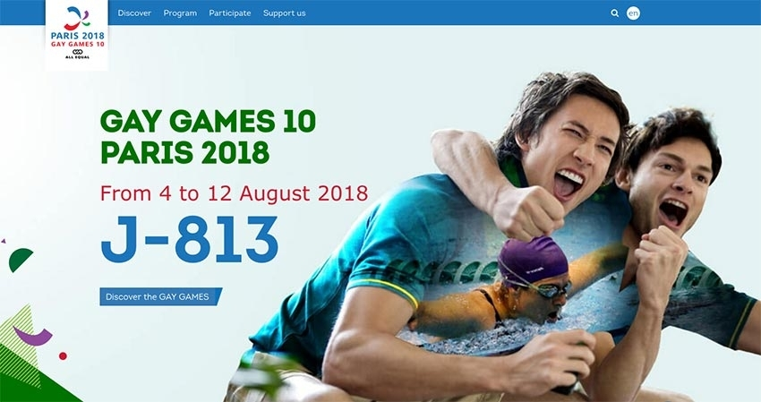 Gay Games Paris 2018
